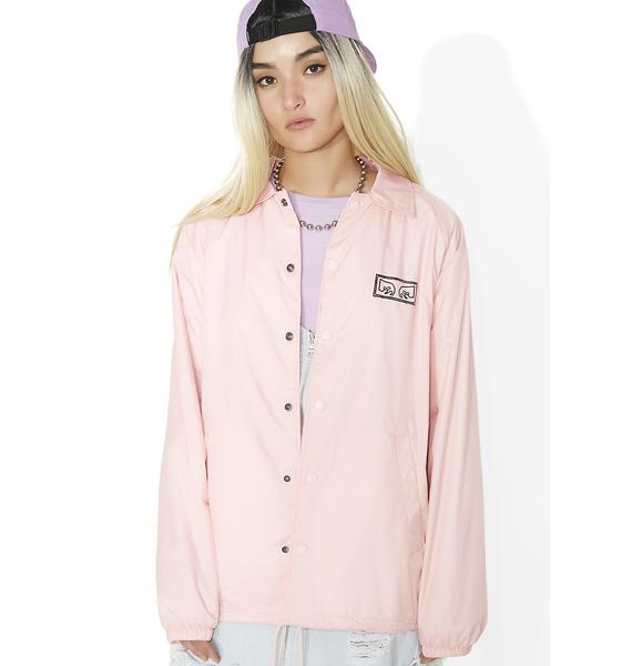 Obey Vibes Coaches Jacket