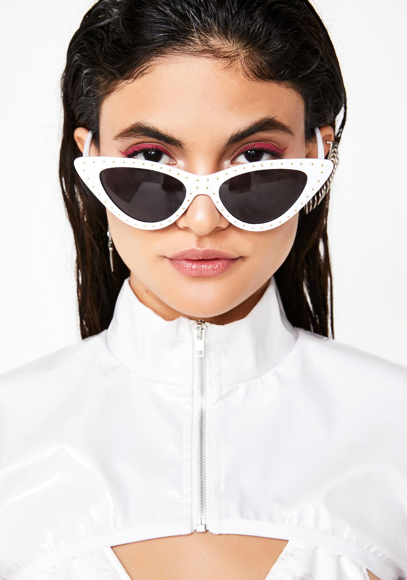Purely Vibin' On Ya Sunglasses