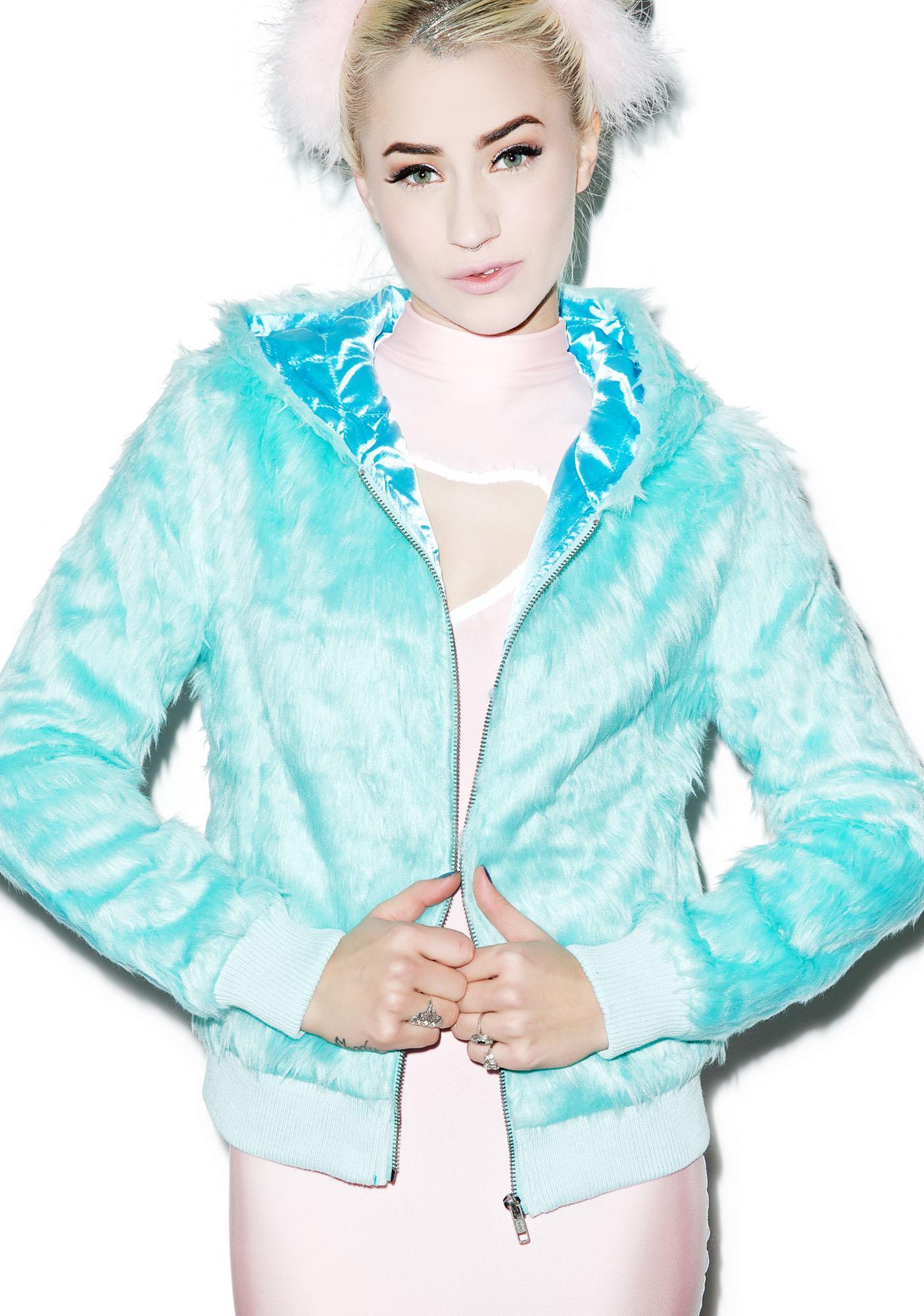 Sourpuss Clothing Yeti Kat Jacket
