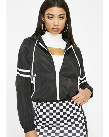 Midnight No Plans Windbreaker Jacket