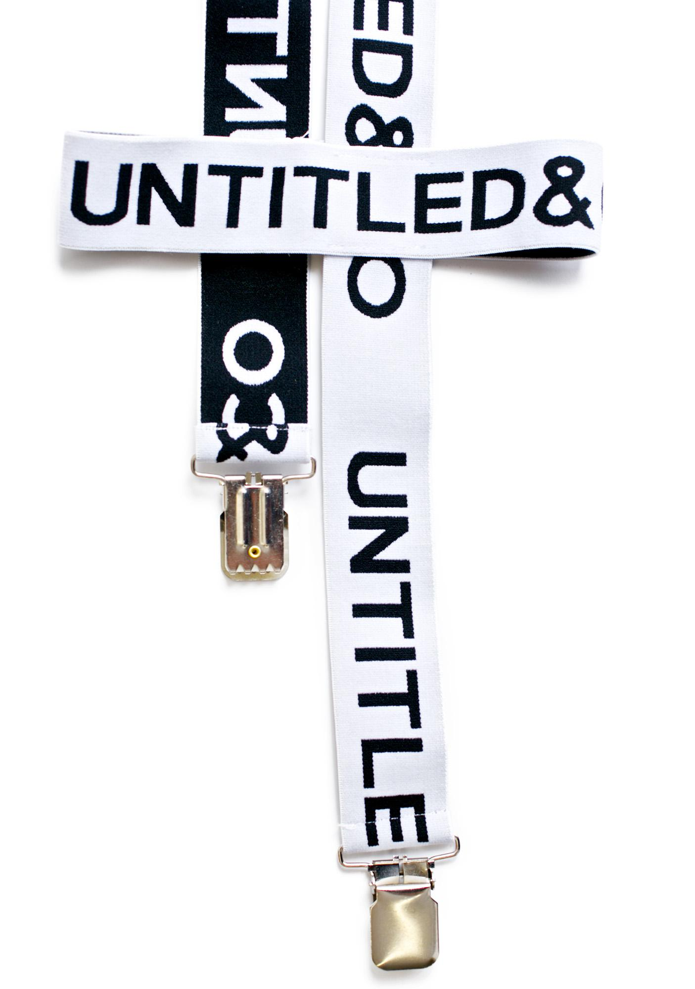 Untitled & Co Garter Harness