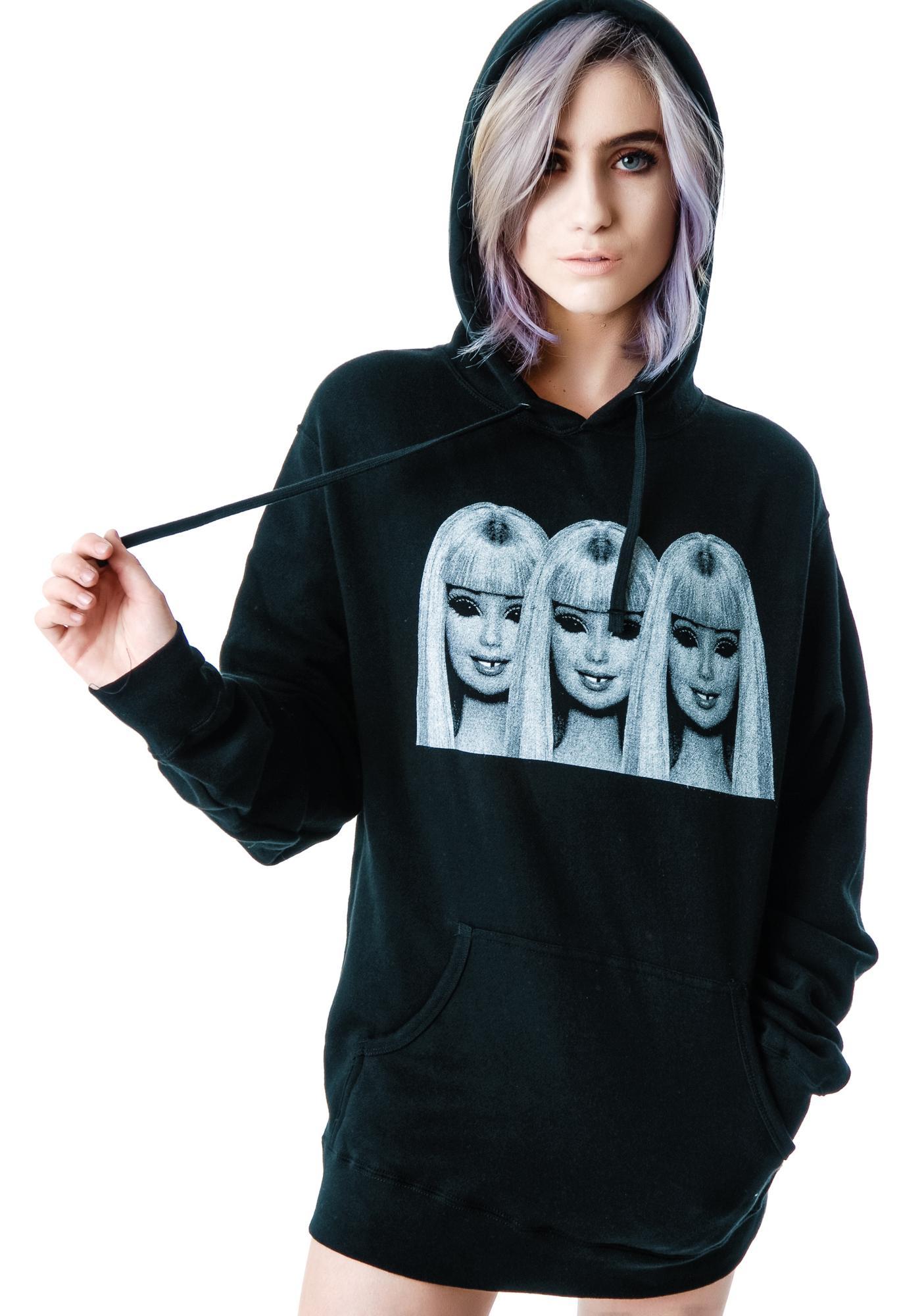 Evil Barbie Pullover Hoodie