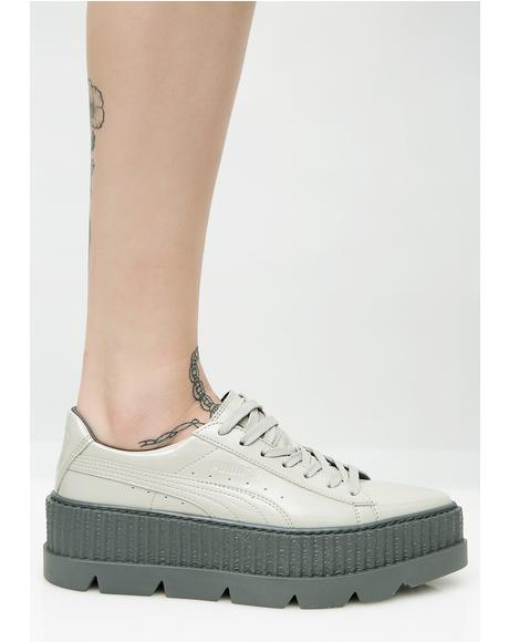 Dove FENTY PUMA By Rihanna Pointy Patent Creepers