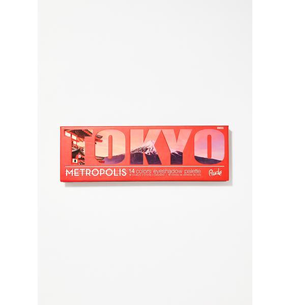 Rude Cosmetics Tokyo Metropolis Eyeshadow Palette