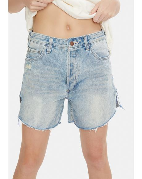 Above And Beyond Baggy Tomboy Shorts