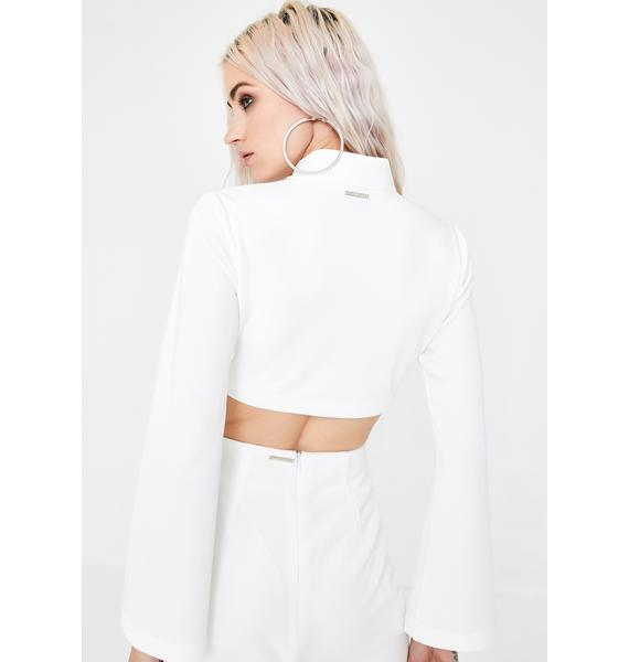 Dynasti Agent Zen Crop Zipper Jacket