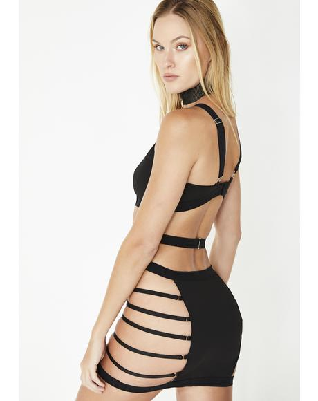 Out Of Line Strappy Dress