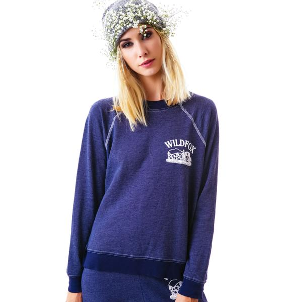 Wildfox Couture Carriage Ride Kim's Sweater