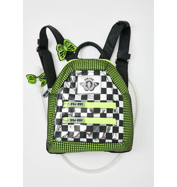 Dan-Pak Check Wreck Mini Hydration Backpack