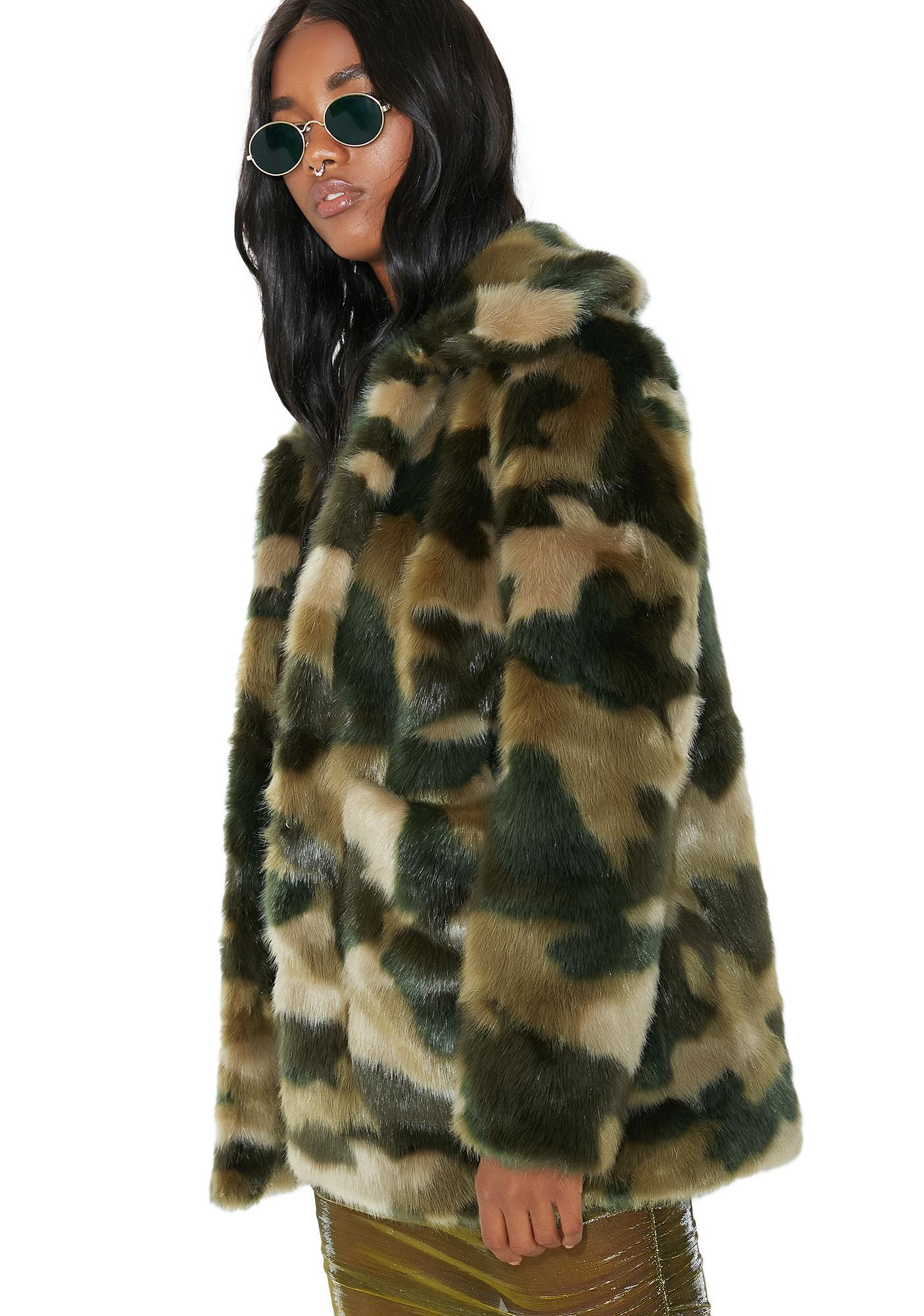 Jakke Camo Tammy Coat