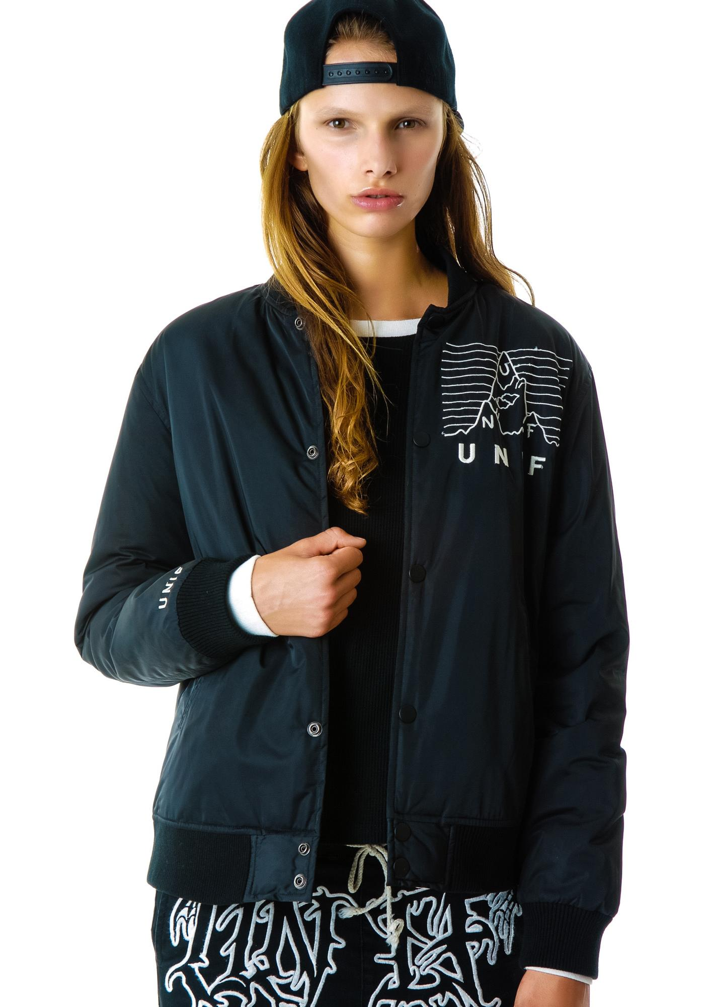 UNIF No Pleasures Bomber Jacket