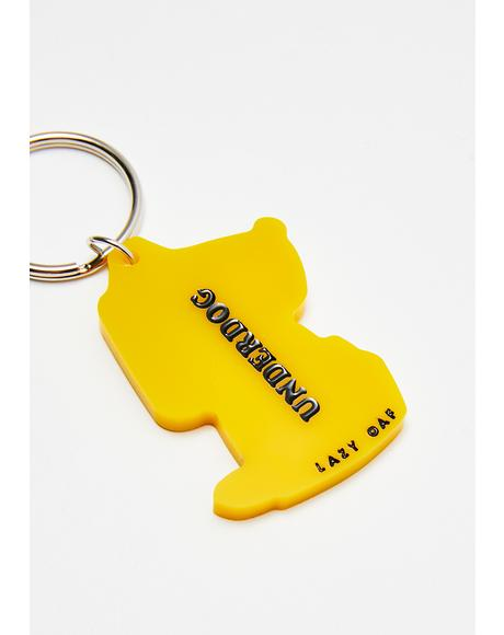Underdog Keychain