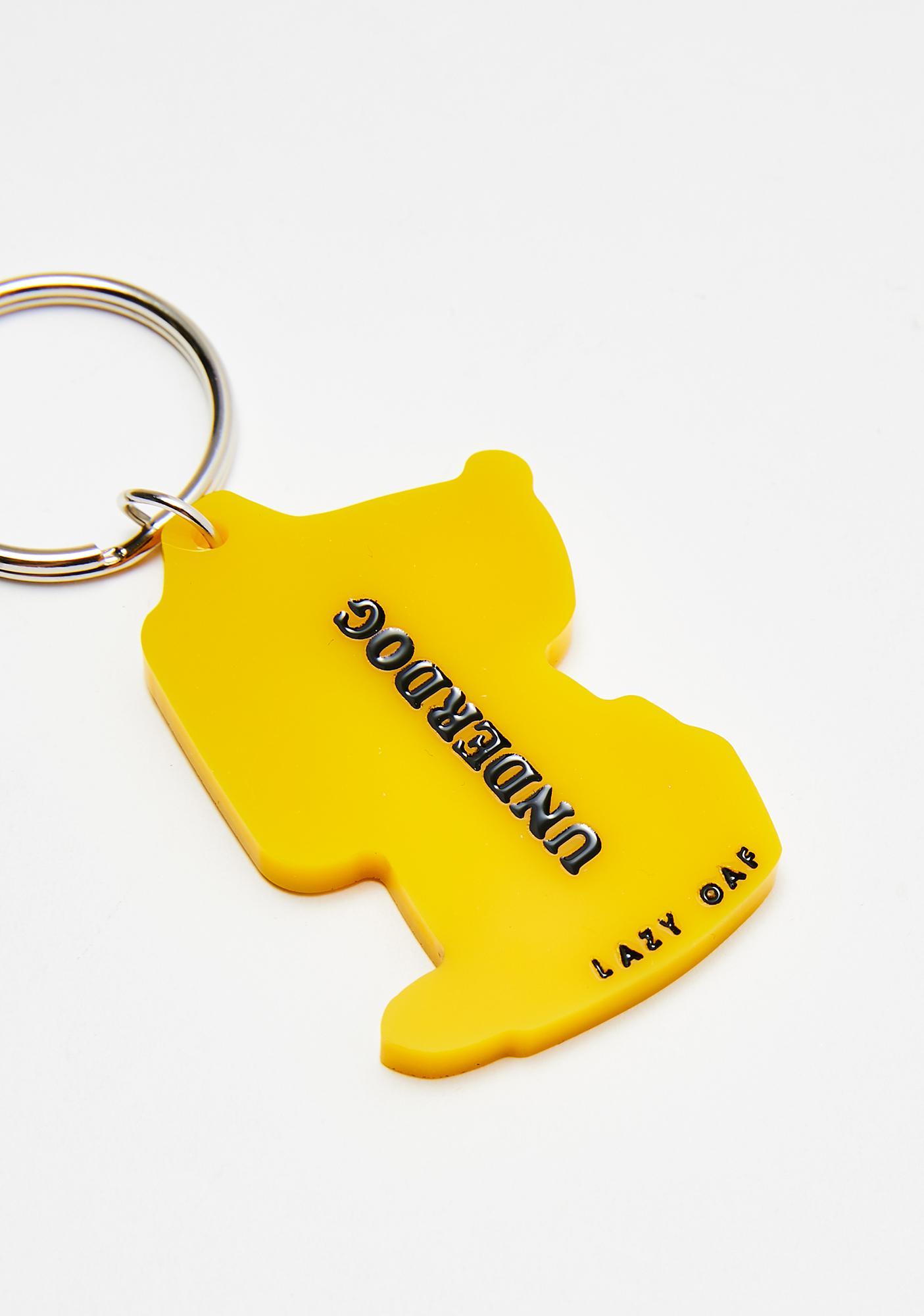 Lazy Oaf Underdog Keychain