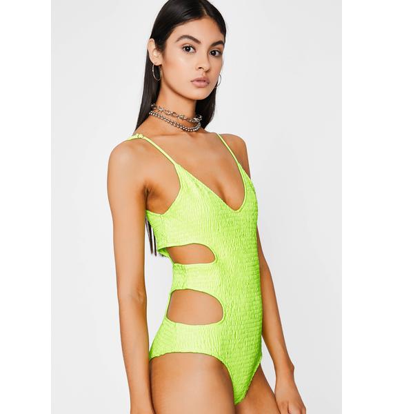 Atomic Sneak Peek Cut Out Bodysuit