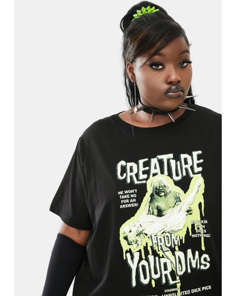 Your Creepiest Monster Short Sleeve Graphic Tee