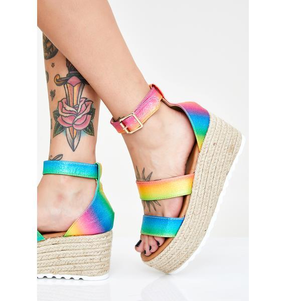 Prism Bossy Baby Platform Sandals