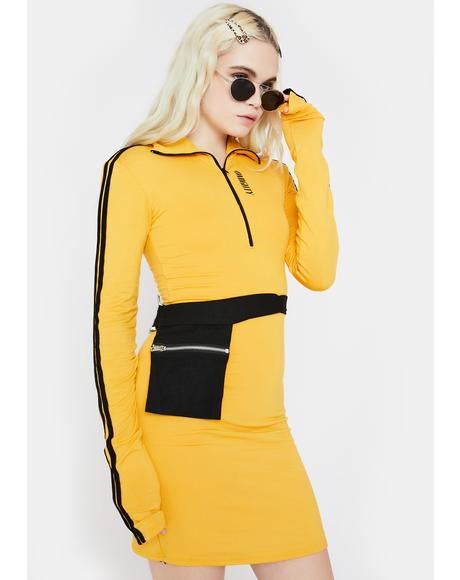 Player 3 Mini Dress