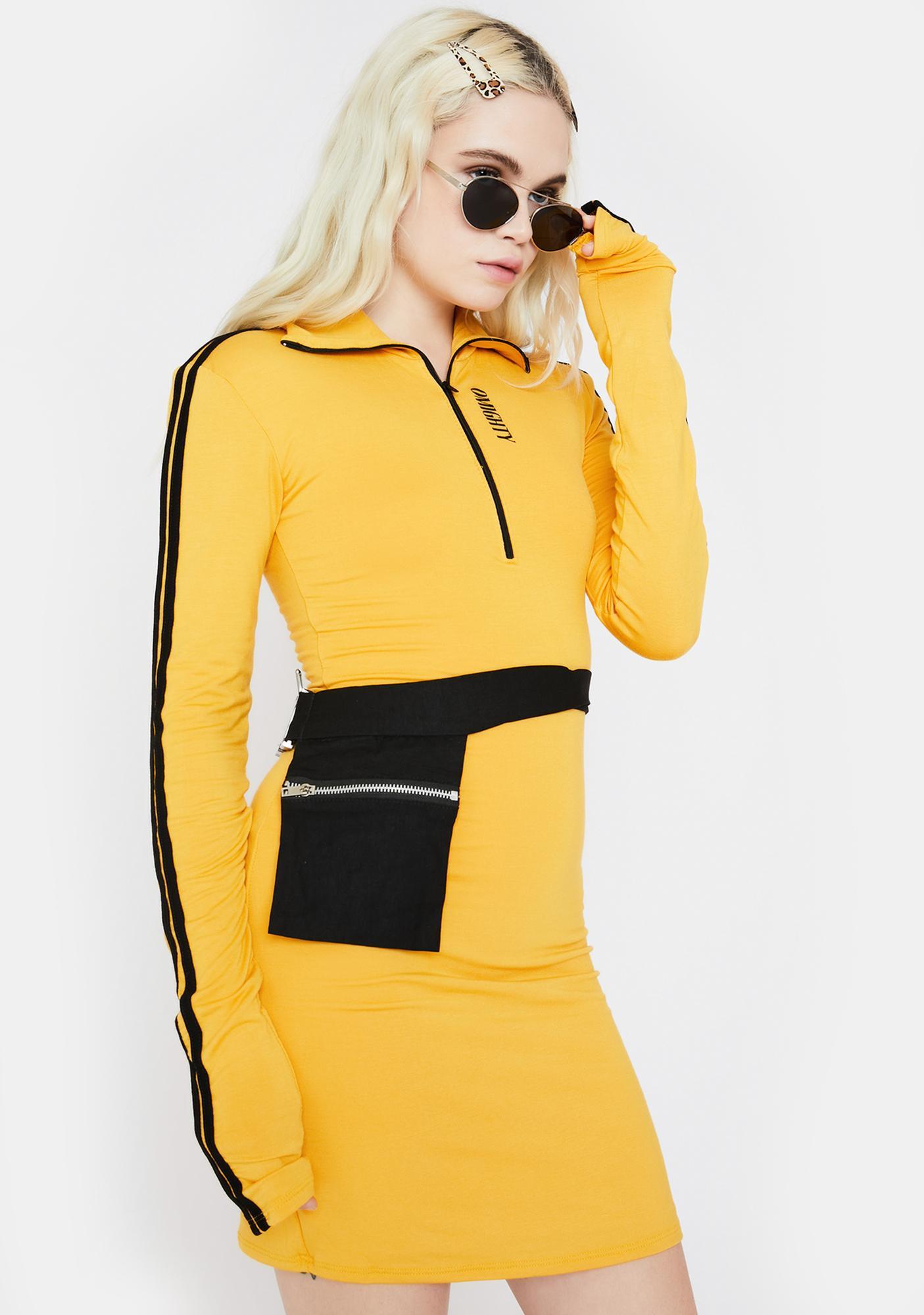 O Mighty Player 3 Mini Dress