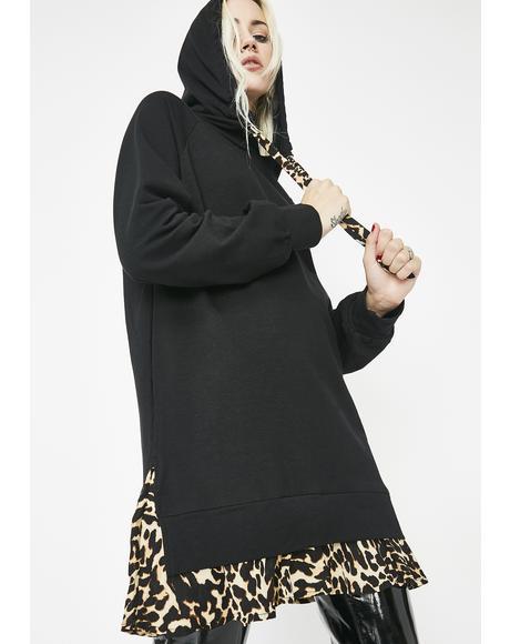 Whose That Grl Leopard Dress