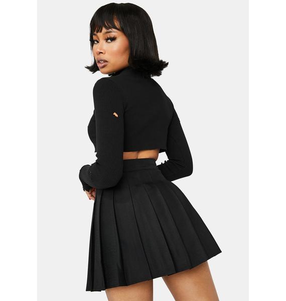 Onyx Just Like Candy Pleated Skirt
