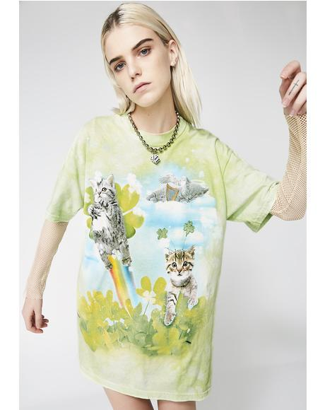Lucky Lil Fairy Kitten Tee
