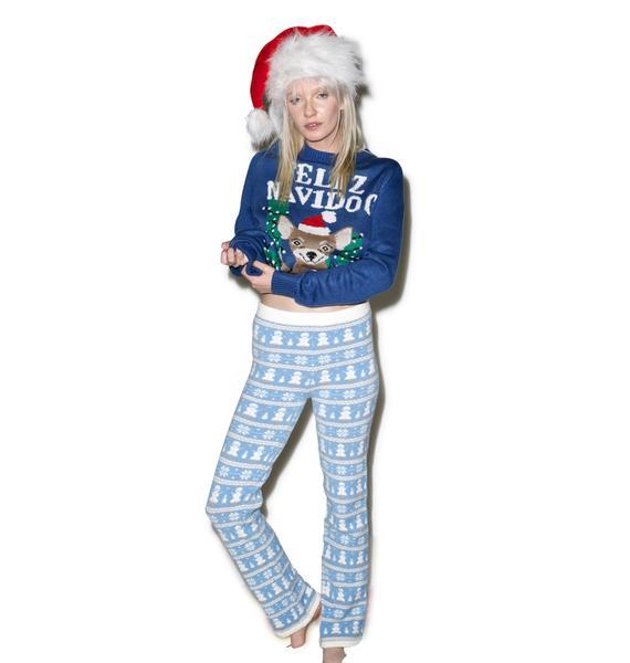 Knitty Kitty Frosty Da Snowman Pants
