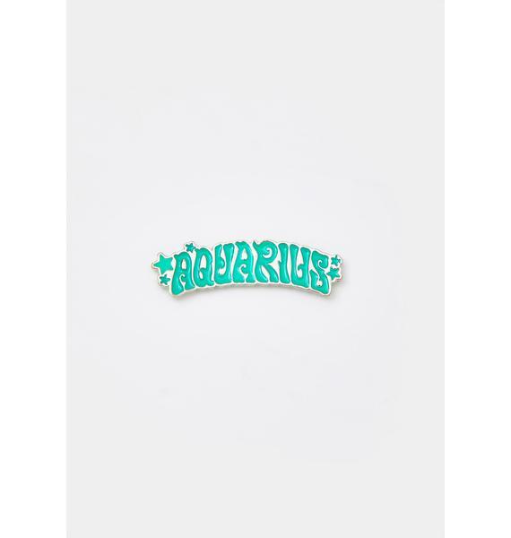 HOROSCOPEZ Always Aquarius Enamel Pin