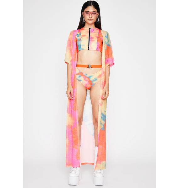 Sunset Mission Tie Dye Shorts Set
