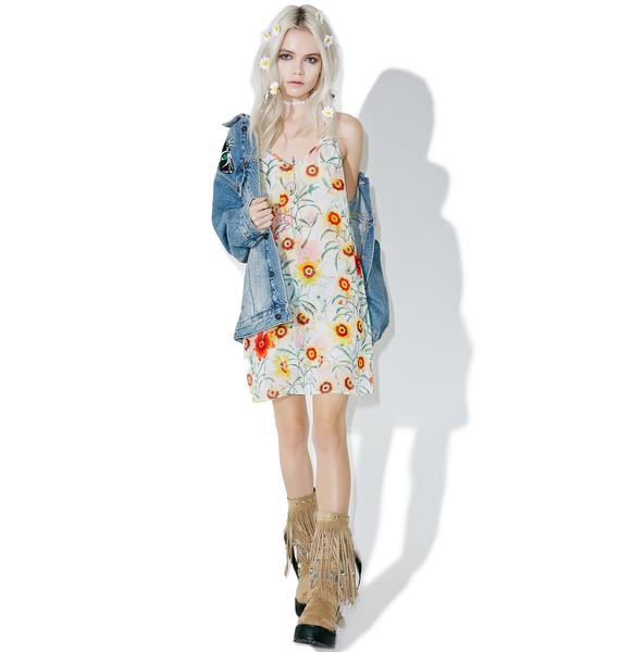 Wildfox Couture Wild Daisy Jumper Dress