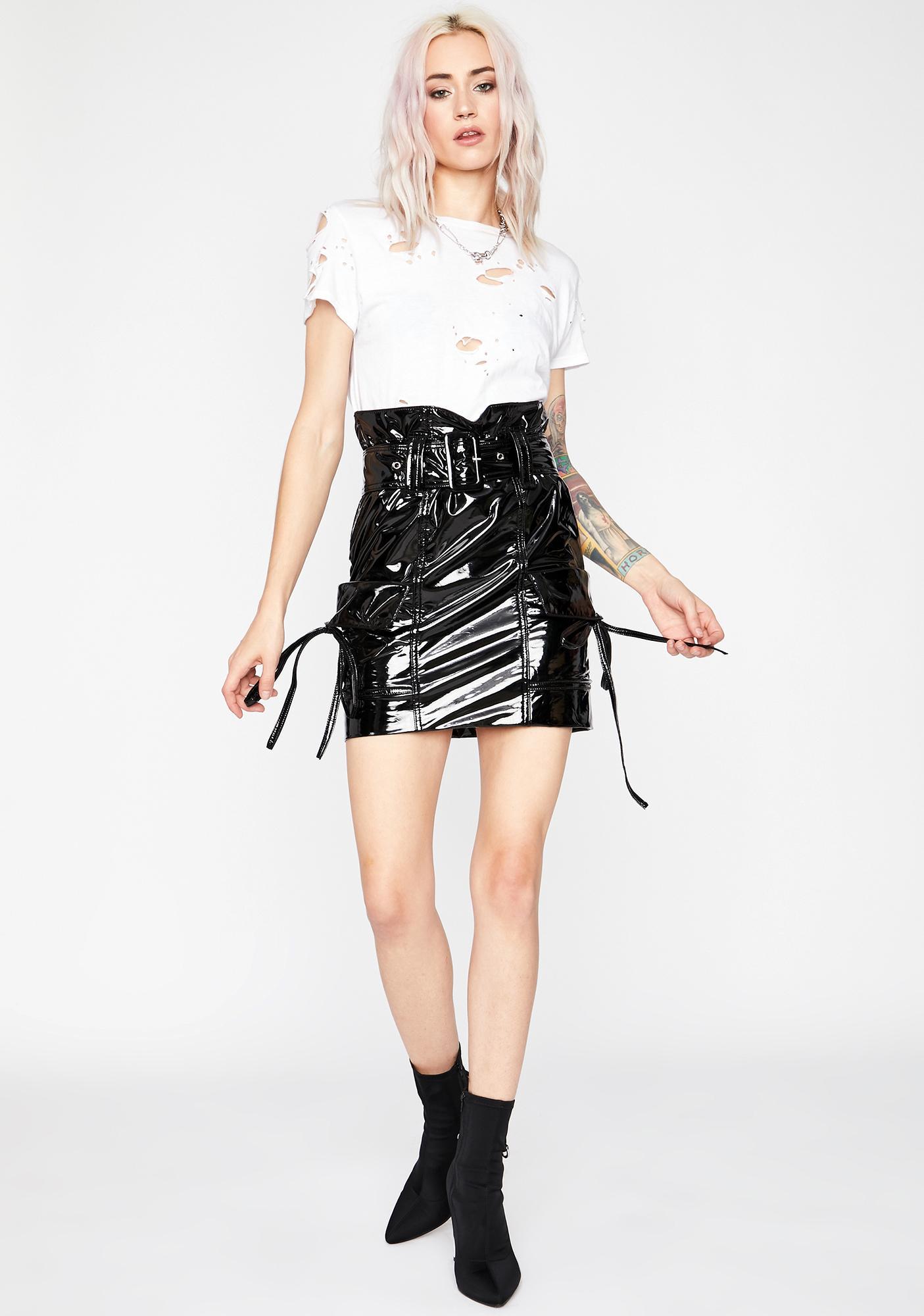 Paparazzi Moment Mini Skirt