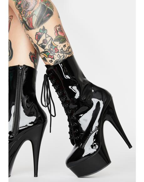 Sinful Addiction Stiletto Boots