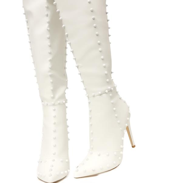Such A Stud Thigh High Boots