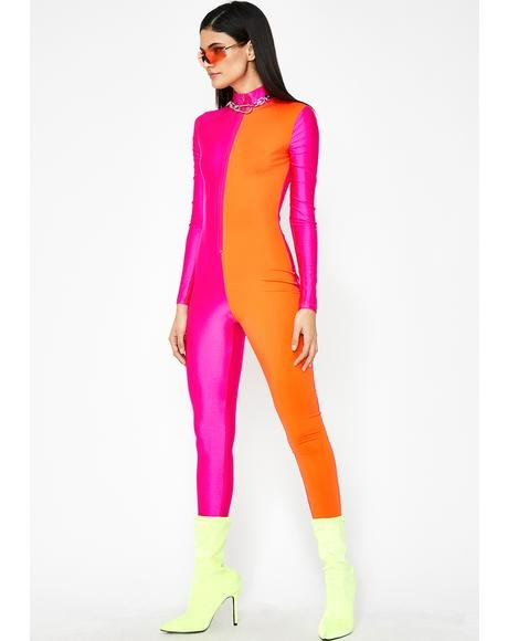 DayGlow Colorblock Jumpsuit
