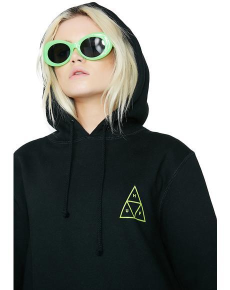Triple Triangle Pullover Hood
