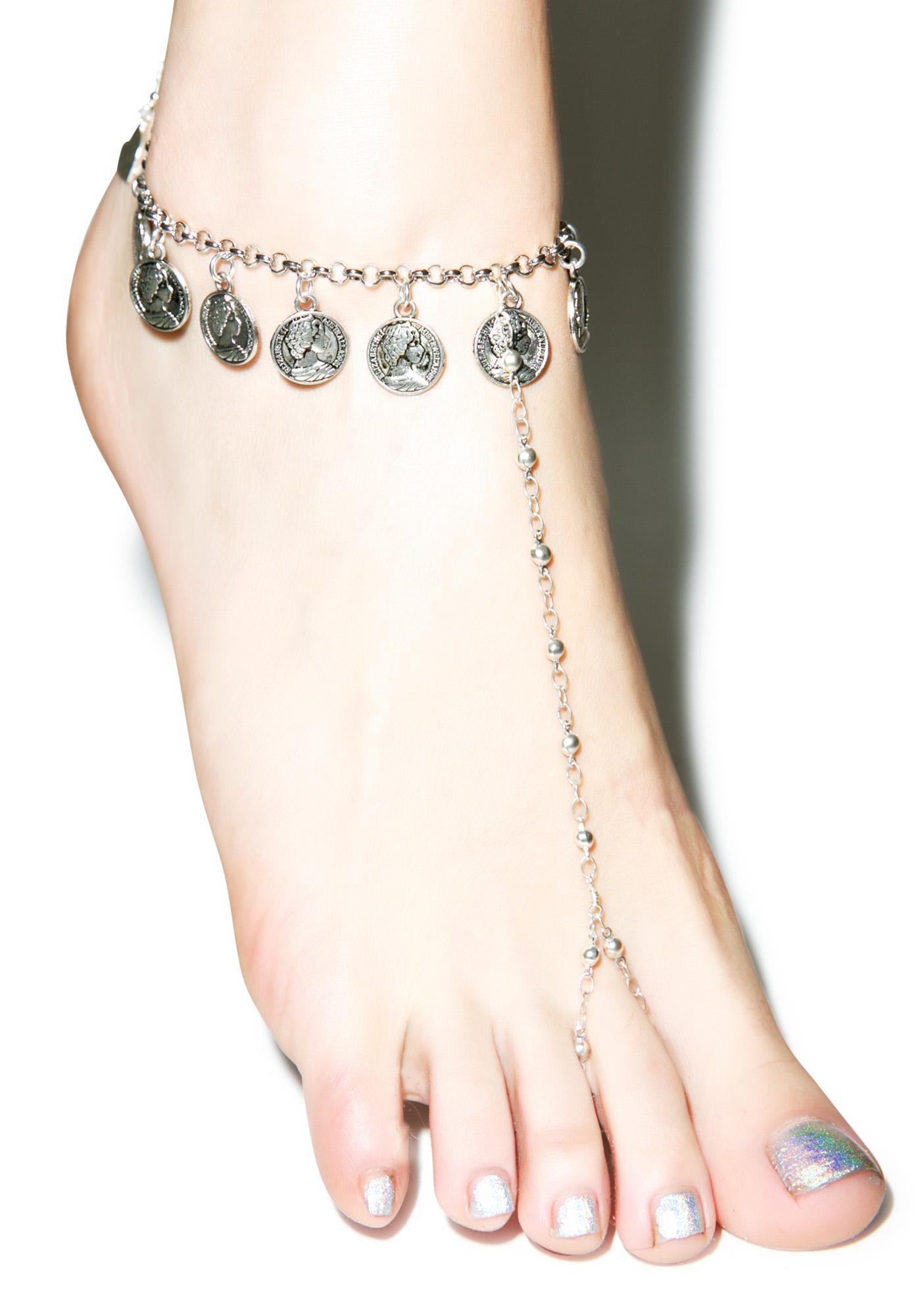 Vidakush x Mod Coin Foot Chain