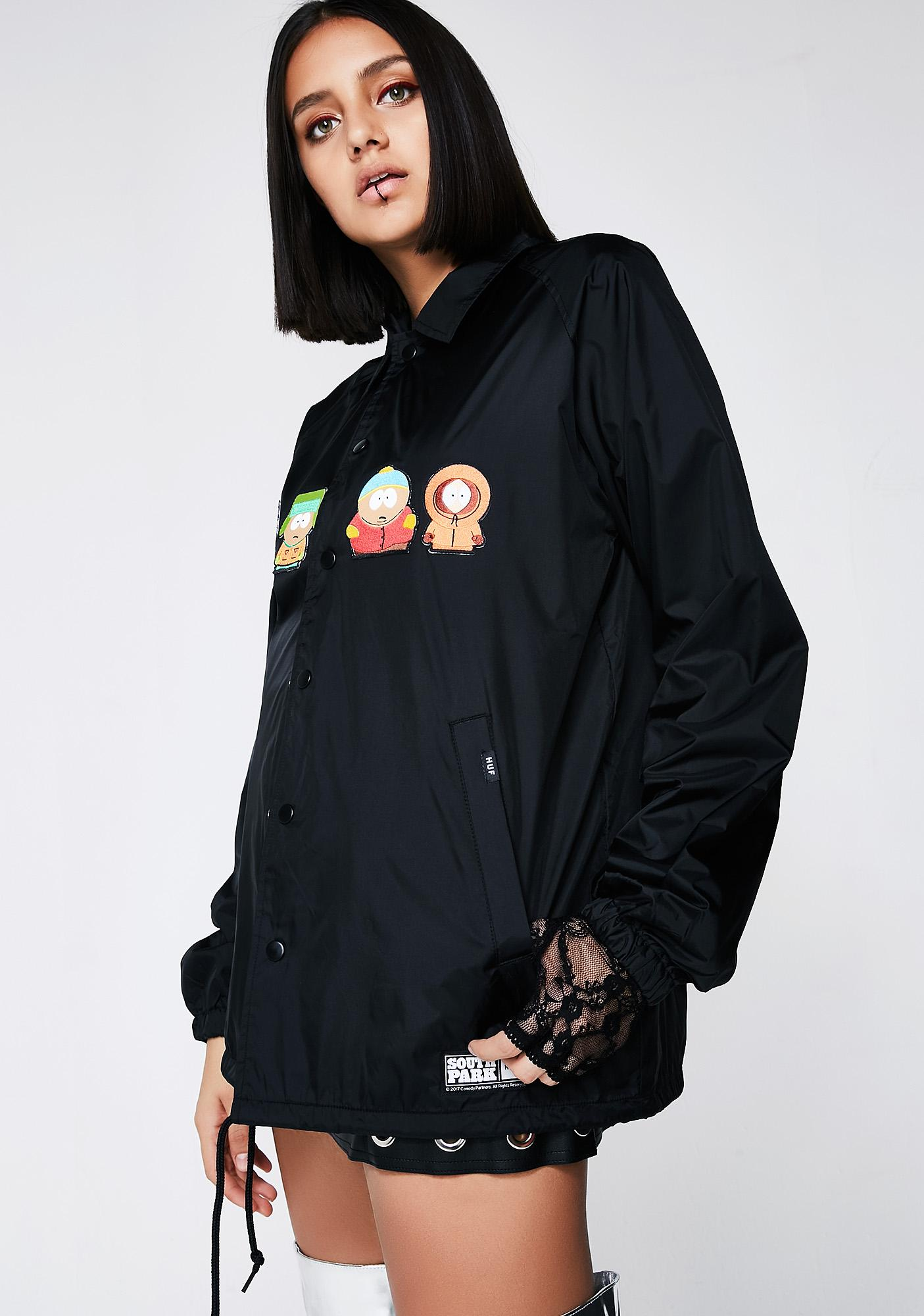 HUF Kids Coaches Jacket