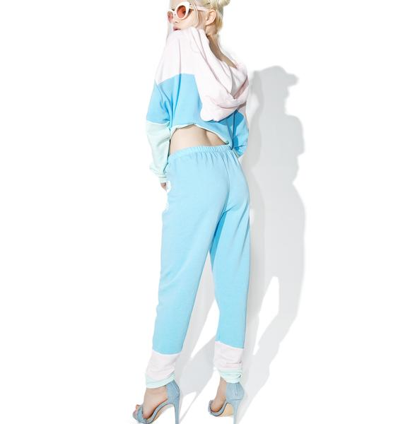 Wildfox Couture Sand Crab Stripe Knox Pants