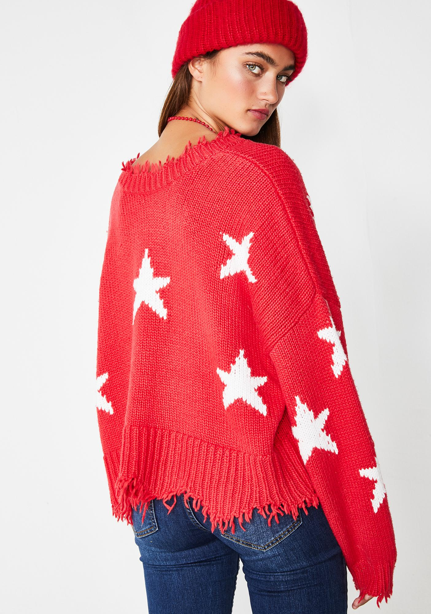 Wildfox Couture Stars Palmetto Sweater