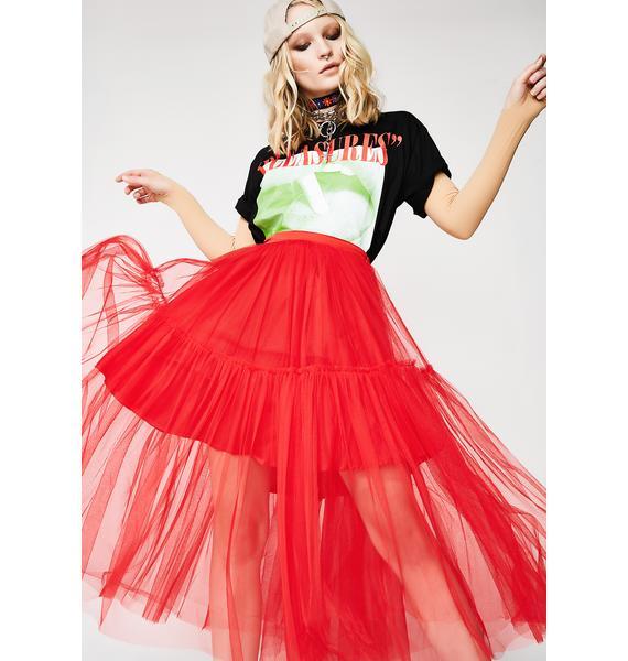 Glamorous Danger Seeker Tulle Skirt