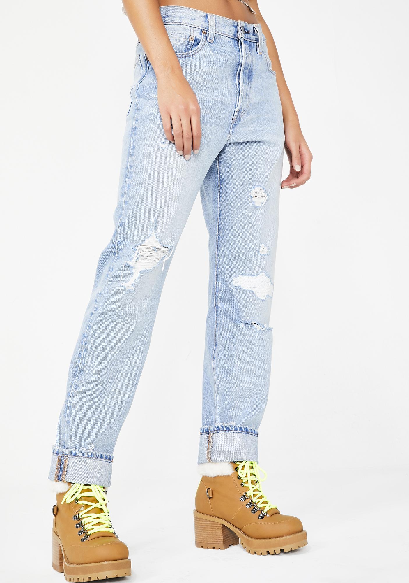 7fa89f11e90 Levis 501 Boyfriend Jeans | Dolls Kill