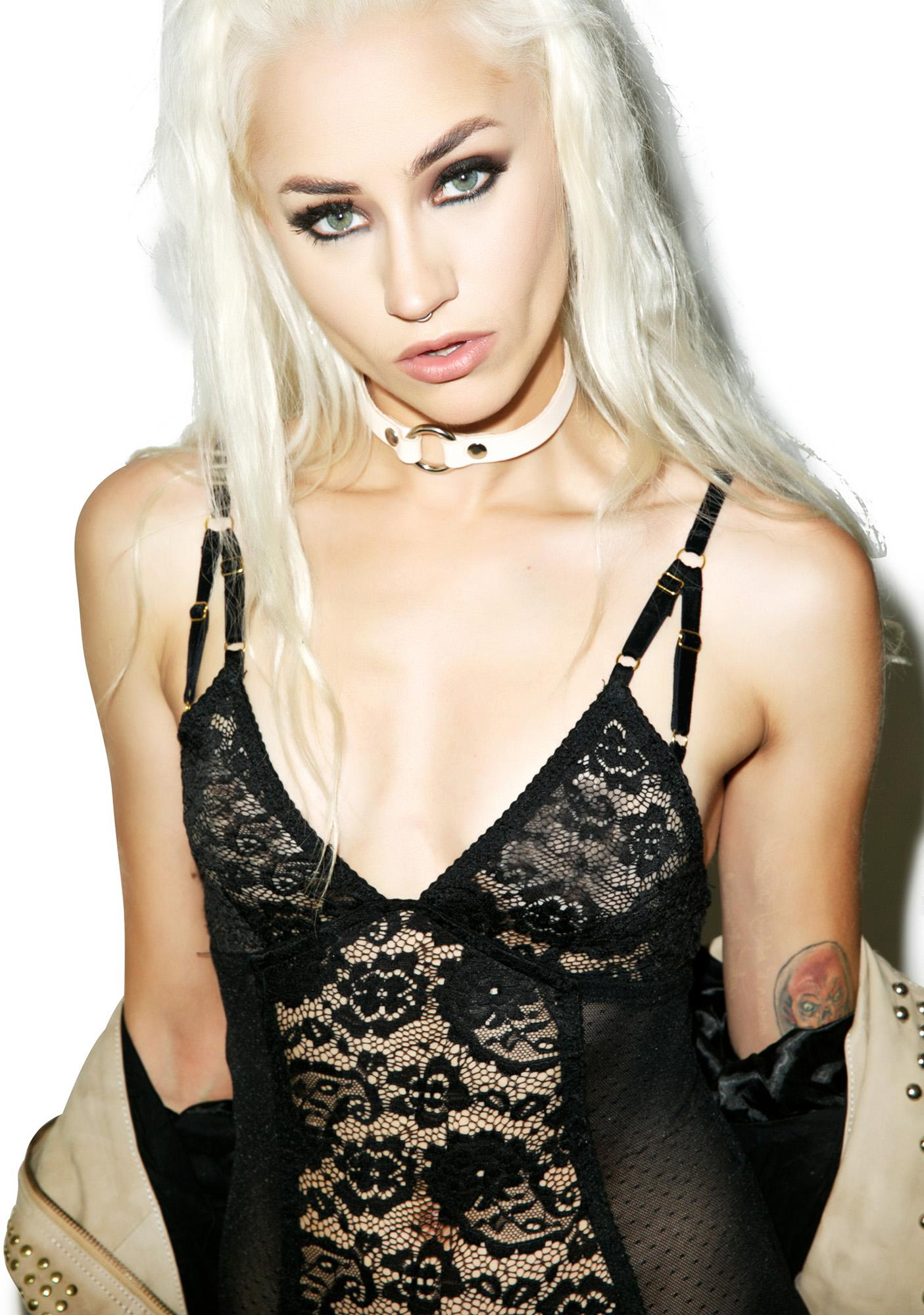 Somedays Lovin Isabel Lace Bodysuit