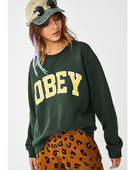 Academic Box Fit Sweatshirt