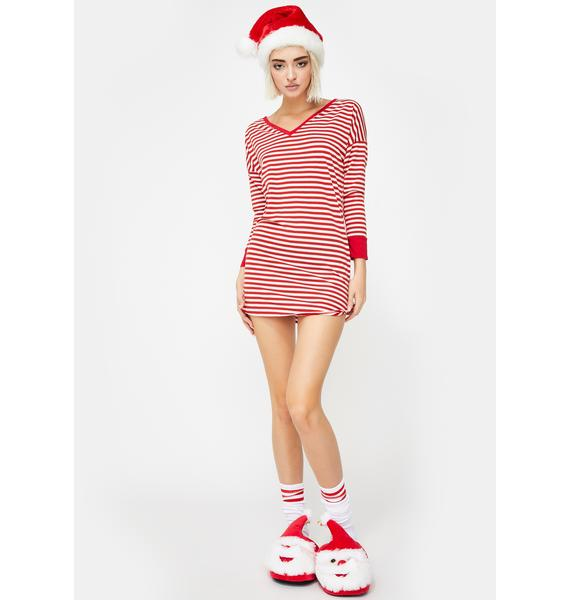 Candy Cane Dreamz Sleep Shirt