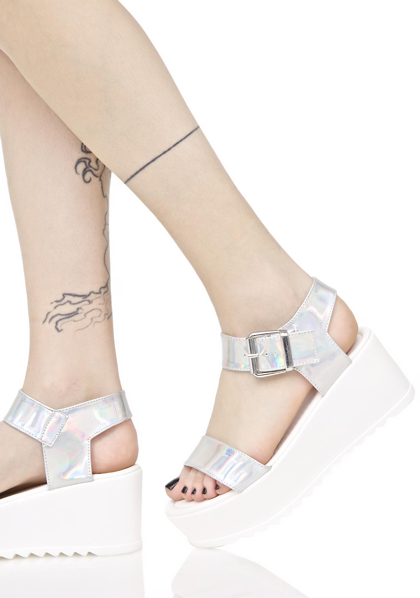 ae25108fee28 ... Hologram Sidney Platform Sandals ...