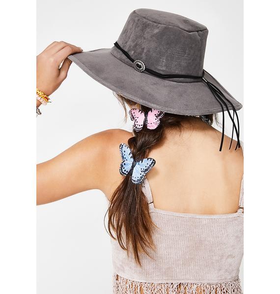 Explore Your Mind Wide Brim Hat