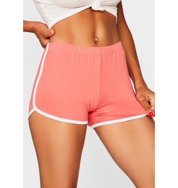 Coral Game Point Dolphin Shorts
