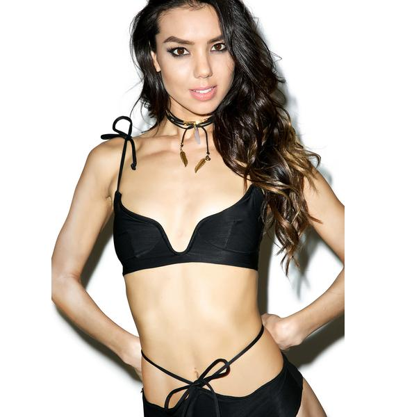 For Love & Lemons Monaco Bikini Top