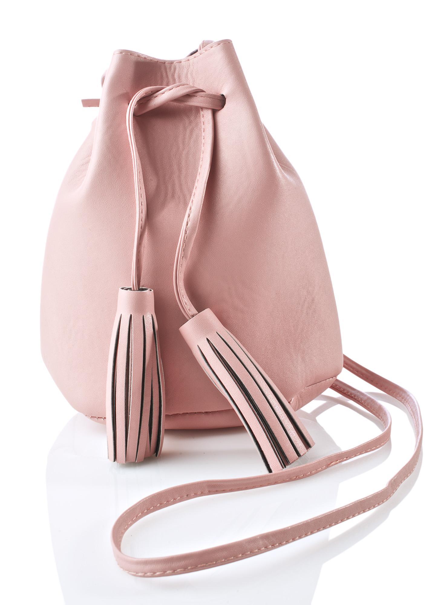 Blushin' Baby Bucket Bag