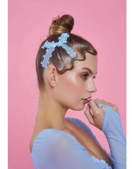 Truly In Love Bow Hair Clips
