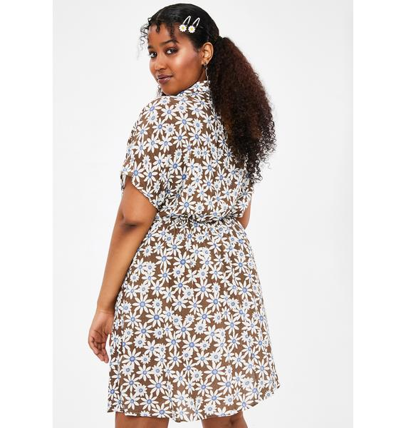 dELiA*s by Dolls Kill BB Don't Ask Don't Tell Floral Dress